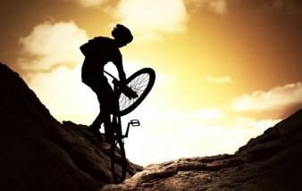 Rien de tel que qu'une randonnée à vélo