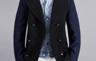 Manteau caban homme, être bien en hiver