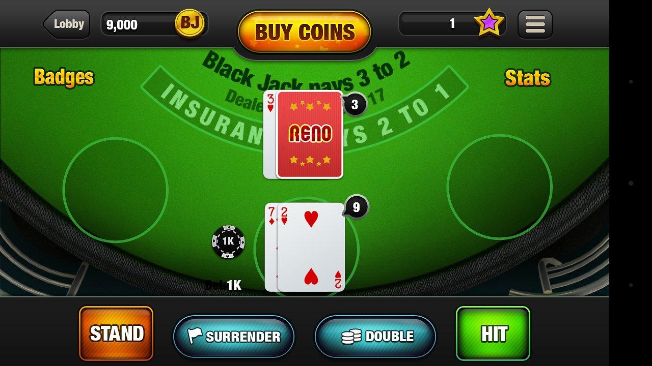 Blackjack France : jouez gratuitement en ligne
