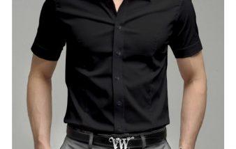Chemise manche courte homme, la pièce tendance pour être à l'aise