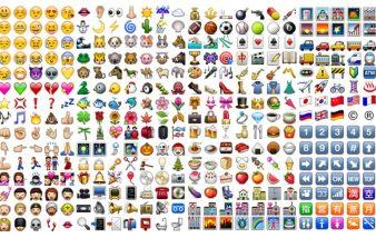 Emoji iphone, je les trouve originaux